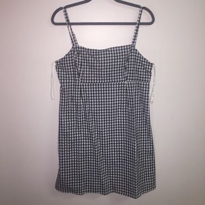 Urban Outfitters Straight Neck Gingham Dress